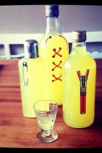 Egentillverkad limoncello