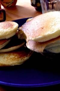 Goda pannkakor till frukost