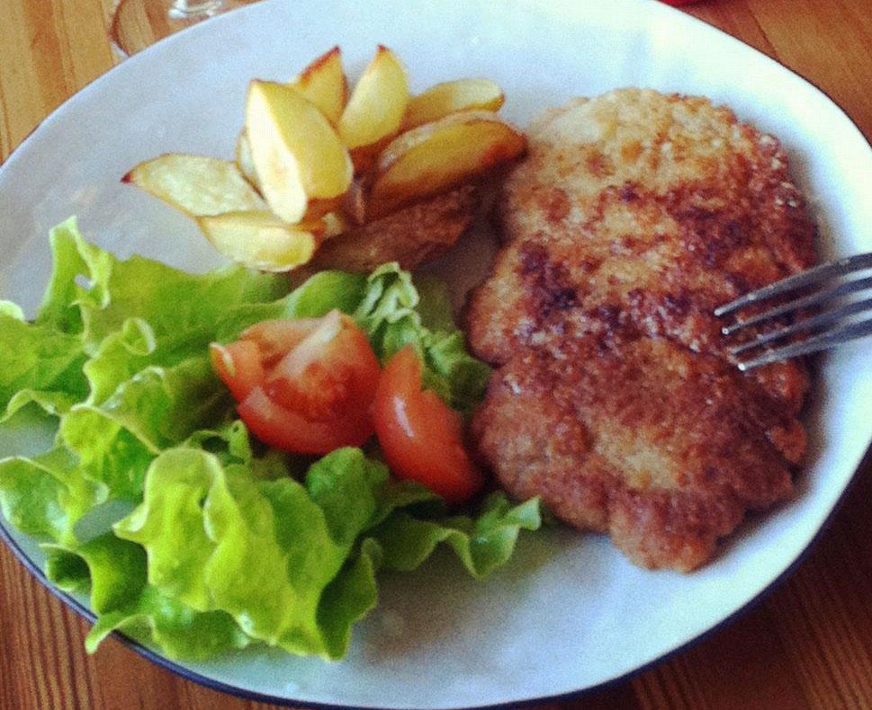 Recept hemmagjord schnitzel
