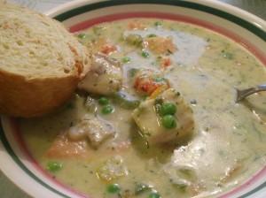 Fisksoppa med hemlagad aioli. (Foto:Matmammans blogg)
