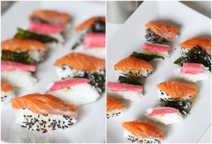 Egen sushi är godare! Goda, ekologiska råvaror. (Bild från matsafari.nu)