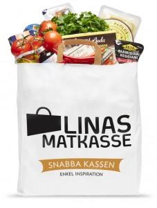 Snabba Kassen, bild från Linas matkasse Press.