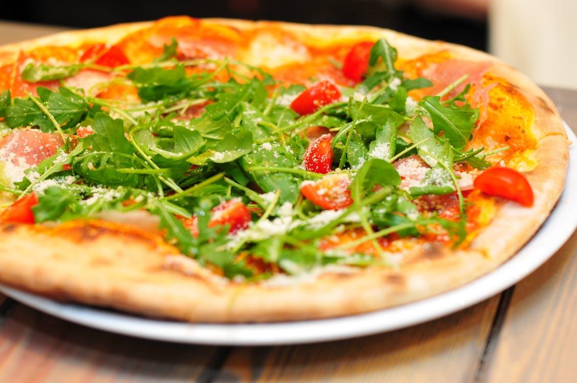 Gör egen pizza utan jäst