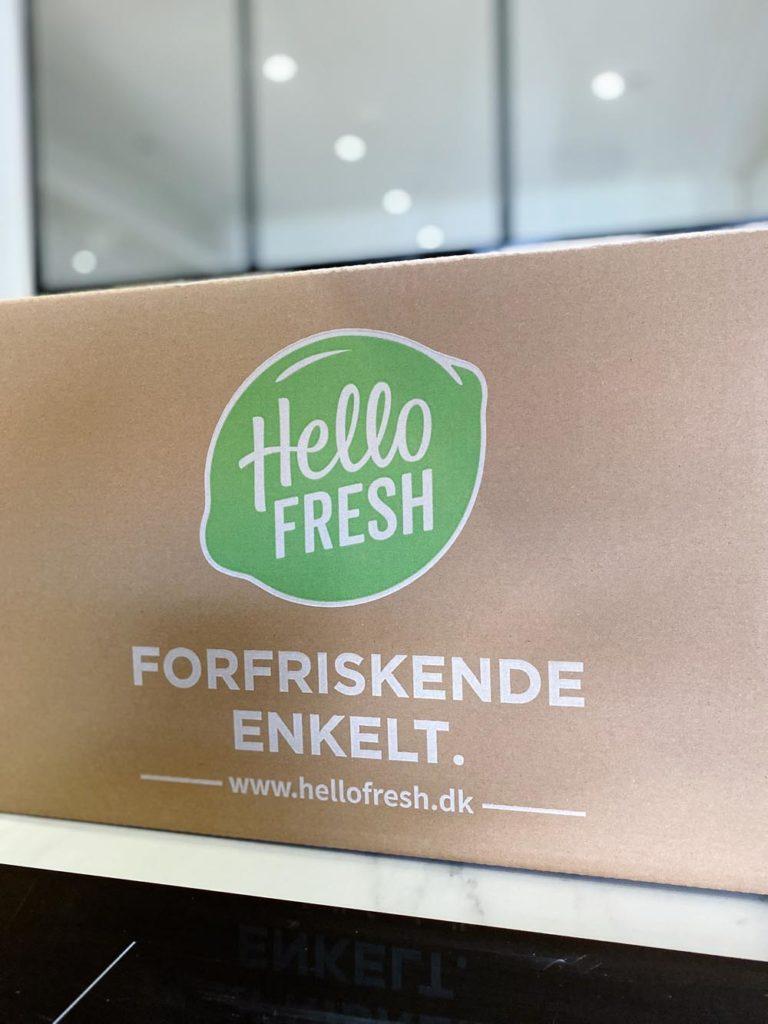 Hello Fresh leveranspaket